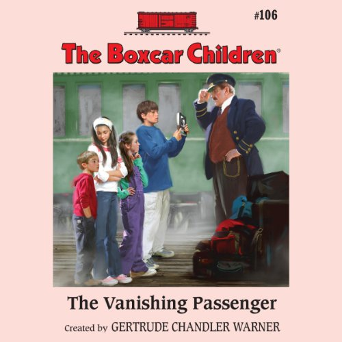The Vanishing Passenger audiobook cover art