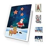 Unicef XR16031942 - Pack de 10 tarjetas santa scenes