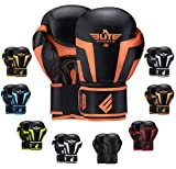 2020 Pro Boxing Gloves for Men & Women, Boxing Training Gloves, Kickboxing Gloves, Sparring Gloves, Heavy Bag Gloves for Boxing, Kickboxing, Muay Thai, MMA ( Orange 12 Oz)