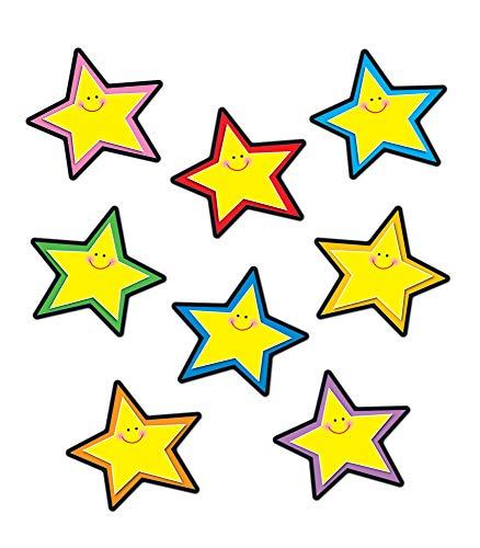 Carson Dellosa – Stars Yellow Colorful Cut-Outs, Classroom Décor, 36 Pieces