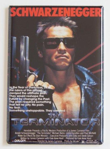 Terminator Movie Poster Fridge Magnet
