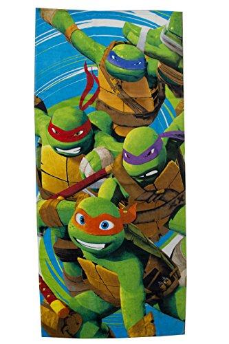 Nickelodeon Teenage Mutant Ninja Turtles Jump Cotton Pool/Beach/Bath Towel