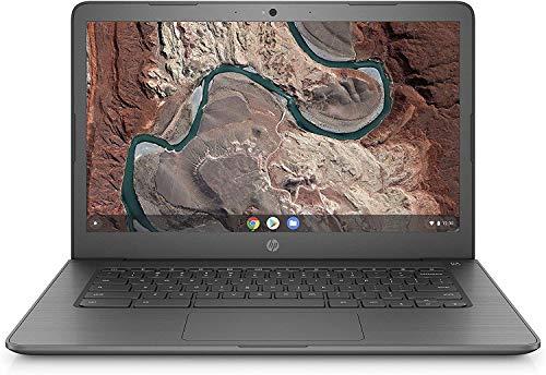 HP 14' FHD IPS Anti-Glare WLED-Backlit Chromebook Laptop, AMD Dual-Core A4 9120 Processor, 4GB DDR4, 32GB eMMC, WiFi, Bluetooth, Webcam, USB-C, Media Card Reader, Chrome OS, 32GB ABYS MicroSD Card