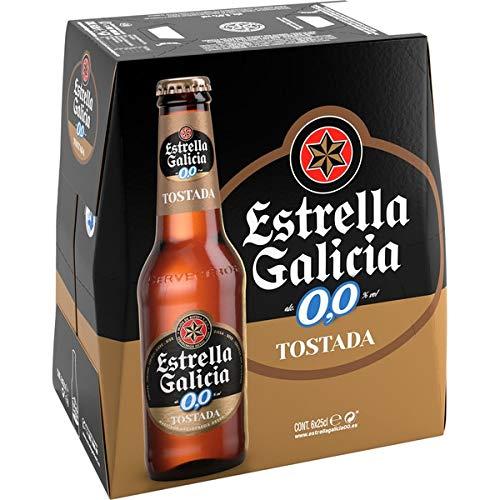 Estrella Galicia 0,0 Tostada Pack 6x25cl