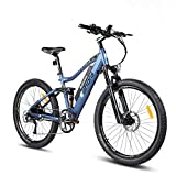 Eahora AM100 Electric Mountain Bike, 27.5 inch Electric Bicycle 350W 48V EBike with Hidden Removable...