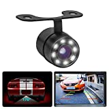 Carzex Car Night Vision Hook Type Non-Drill/Number Plate Reverse Parking Rear View Waterproof Camera...
