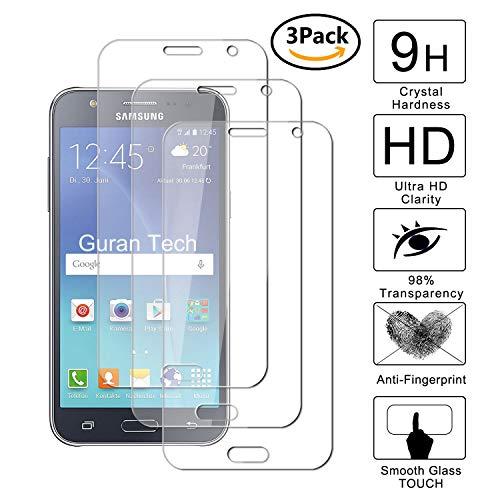 Guran [3-Unidades] Protector de Pantalla Vidrio Cristal Templado para Samsung Galaxy J5...