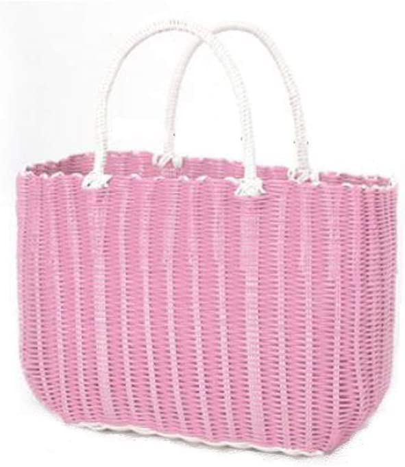 Picnic Basket Super sale with Handles Special Campaign Vegetable Woven Picn Plastic