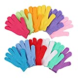 Best Exfoliating Gloves - 12 Pairs Double Sided Exfoliating Gloves Body Scrubber Review