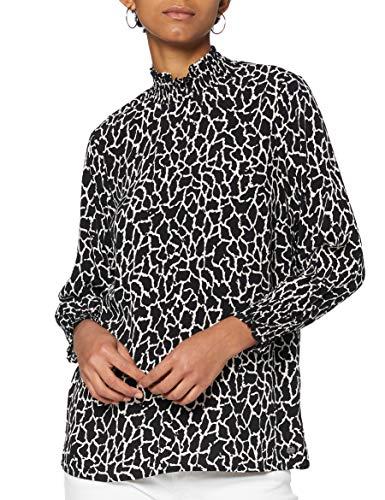 Garcia Damen U00033 Bluse, Black, XXL