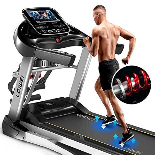 Máquina de correr Cinta de correr Máquina de correr eléctrica motorizada Máquina de correr plegable de control digital Equipo de gimnasio Equipo de espacio Saver Aptitud interior (128x72.5x178cm)