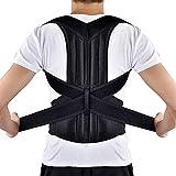 HailiCare Corrector de Postura para Espalda Transpirable y ajustable Soporte de Espalda...