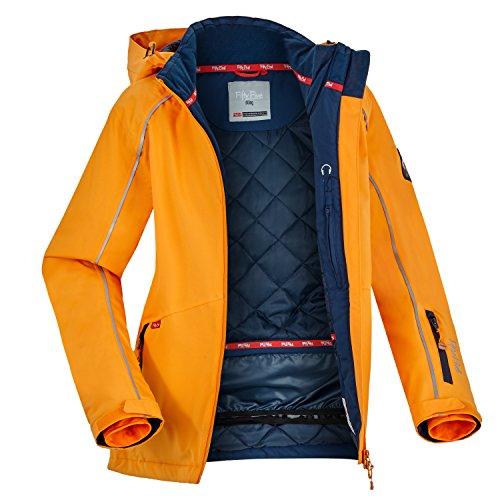 Fifty Five Damen Skijacke Snowboardjacke Saint Marys, Orange (Orange 007), 42