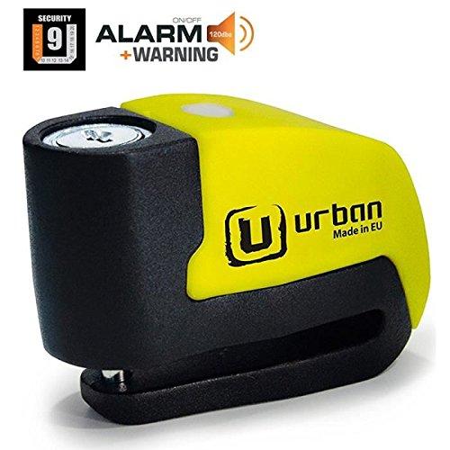 Bloque de disco alarma alarma antirrobo antirrobo para moto, scooter, Urban UR6