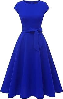 Best royal blue vintage dress Reviews