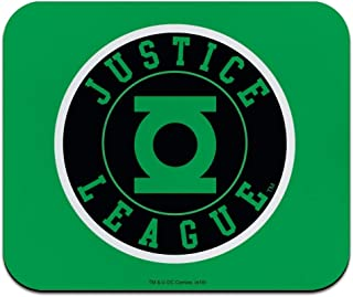 Justice League Green Lantern Athletic Logo Low Profile Thin Mouse Pad Mousepad