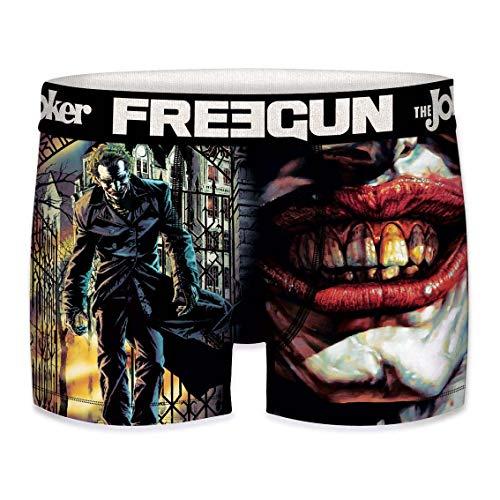 Freegun Herren Boxershorts DC Comics The Joker Smile Gr. XXL, mehrfarbig