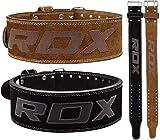 RDX Cinturon Musculacion para Power Lifting Gimnasio Entrenamiento   Aprobado por IPL...