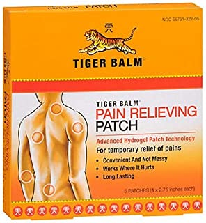 Tiger Balm Patch - Hot Patch - 5 Per Box