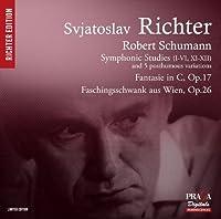 Schumann: Symphonic Studies, Fantasie, Faschingsschwank aus Wien by Sviatoslav Richter (2013-06-11)