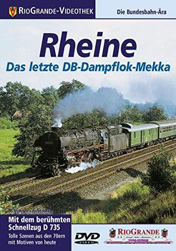 Rio Grande - Rheine Das letzte DB-Dampflok-Mekka