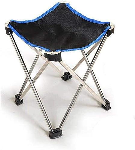 Lcxghs Tabouret Pliant d'extérieur Ultra léger portable Chaise de pêche de Loisir Famille Camping Friends Party.