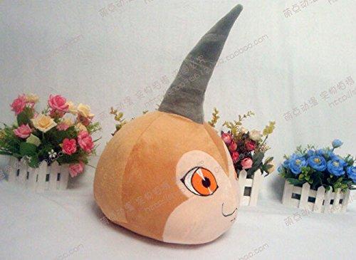 『Digimon Adventure デジタルモンスター Tsunomonツノモン 風コスプレ道具小物 ぬいぐるみ アニメ周辺』の1枚目の画像
