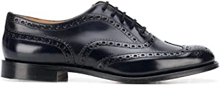 Luxury Fashion | Church's Men EEB264FG000009X Blue Leather Lace-up Shoes | Spring-summer 20