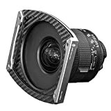 Zorro Soporte de filtro plateado para Irix 15 mm f/2.4 + ADR95/S (2 filtros de 100 mm sin viñeamiento)