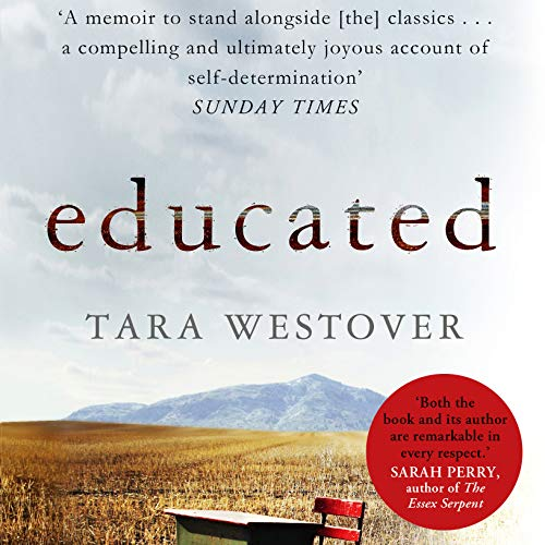 Educated audiobook cover art