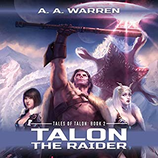 Talon the Raider audiobook cover art