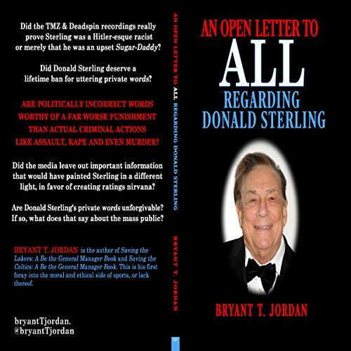 An Open Letter to All Regarding Donald Sterling audiobook cover art