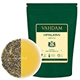 VAHDAM, Green Tea Leaves from Himalayas (100+ Cups) 9oz Bag - 100% Natural Weight Loss Tea & Slimming Tea - POWERFUL ANTI-OXIDANTS, Brew Hot Tea, Iced Tea or Kombucha Tea, Green Tea Loose Leaf