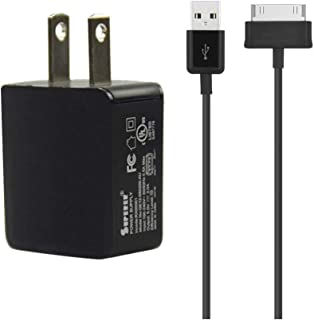 (2-Cable) AC Charger for Samsung Galaxy Note Tab 10.1 Gt-n8013 SM-T580 Galaxy Tab 2 10.1 Gt-p5113 Sgh-i497 Sch-i915 Galaxy Tab 2 7.0 Gt-p3113 Gt-p3100 Sch-i705 Others Note-Tab-2-10.1 8.9 7.7 7 Tablet