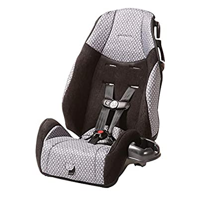 Cosco - Highback 2-in-1 Booster Car Seat - 5-Point Harness or Belt-positioning - Machine Washable Fabric, Hawthorne from Cosco®