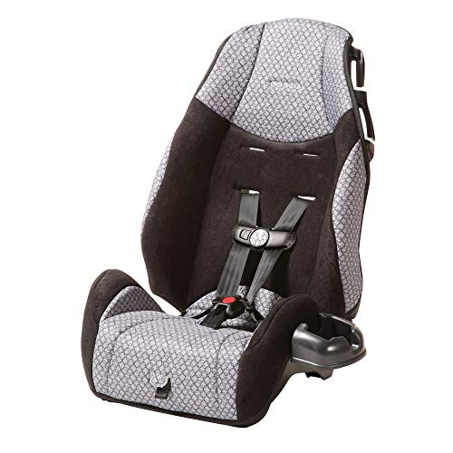 Cosco - Highback 2-in-1 Booster Car Seat - 5-Point Harness or Belt-positioning - Machine Washable Fabric, Hawthorne Alabama