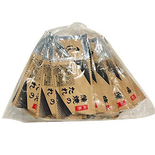 うなぎ 蒲焼 の たれ 山椒 付き 40小袋セット【1人前あたり・たれ10㎖ さんしょう0.2g】
