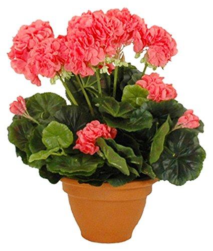 Mica decorations 947283 bloemen, geranium groot, roze