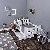 KAGU Chrisi Junior lit lit lit enfant jeunesse bois de pin (140x 70cm ou 160x...