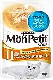 モンプチ パウチ スープ 11歳以上 まぐろスープしらす入り 12個