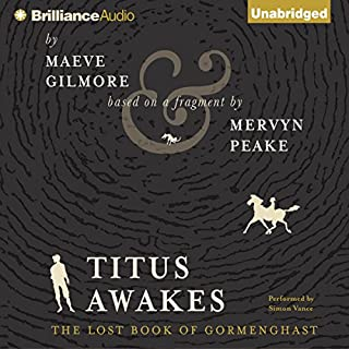Titus Awakes audiobook cover art