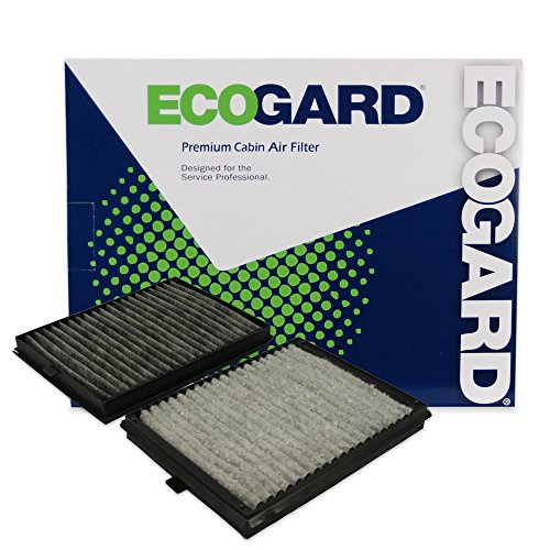 ECOGARD XC35509C Premium Cabin Air Filter with Activated Carbon Odor Eliminator Fits BMW 528i 1997-2000, 530i 2001-2003, 525i 2001-2003, 540i 1997-2003, M5 2000-2003