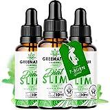 * GreeNature DietSlim gocce – 100% ingredienti naturali | Veloce e facile da prendere | senza caffeina | per uomini e donne (3 pezzi)