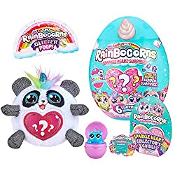 6 SPARKLY & SOFT CHARACTERS; All new mini Rainbocorns to collect with peel to reveal sparkly hearts. 6 new friends to find! NEW STAMP SURPRISE BOO-BOOCORNS: 34 new Boo-boocorns to find with new stamp surprises! You can even use your Boo-Boocorn as a ...