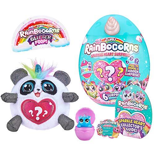 ZURU RAINBOCORNS 9214G - Cornispas Brillantes con corazón de Panda S2