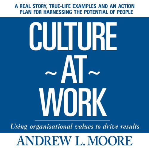 Culture at Work audiobook cover art