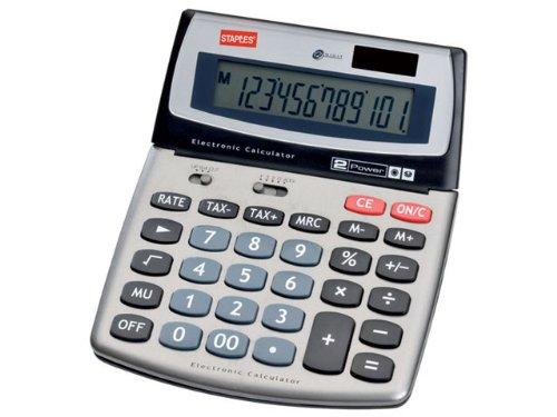 Tischrechner Multi 560 silber 12-stlg.