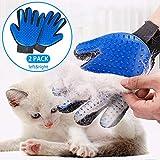 STARROAD-TIM Pet Grooming Glove Hair Remover Brush Gentle Deshedding Efficient Pet Mitt Pet Mas…