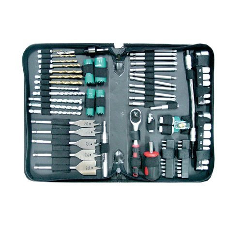 Makita Technicians Pouch Drill and Screwdriver Bit Set (79 Pieces)