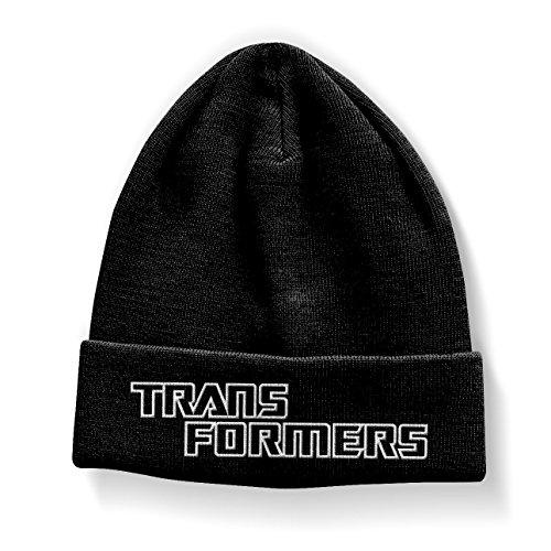 Officiellement Marchandises sous Licence Transformers Logo Bonnet (Noir)